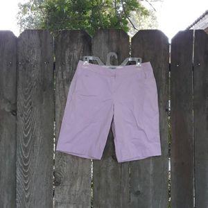 IZOD pink shorts